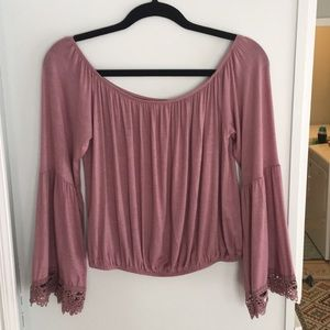 Charlotte Russe Pink Top